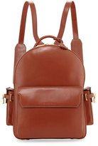 Buscemi PHD Men's Calf Leather Backpack, Whisky