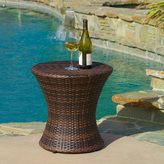 Christopher Knight Home Adriana PE Wicker Outdoor Side Table