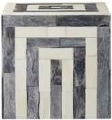 Lene Bjerre Bonia Square Deco Box Grey Off White Bone Buffalo Bone