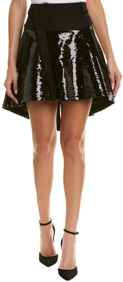 Diesel Black Gold Osofi Wool-Blend Skirt