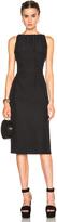 Nina Ricci Satin Backed Crepe Dress