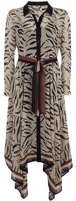 Mint Velvet Ecru Nadine Print Shirt Dress