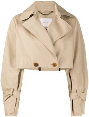 Dorothee Schumacher Cropped Trench Jacket