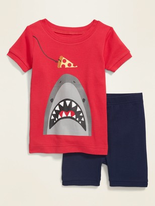 Old Navy Shark-Graphic Pajama Set for Toddler & Baby