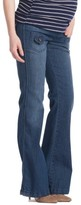 Women's Lilac Clothing Flare Maternity Stretch Jeans