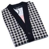 Givenchy Men's Black 100% Wool Printed Cardigan.