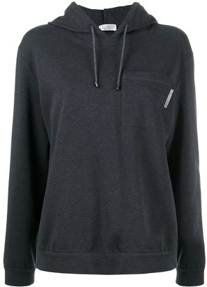 Brunello Cucinelli Long-Sleeved Hoodie