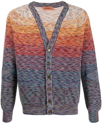 Missoni V-neck knit cardigan