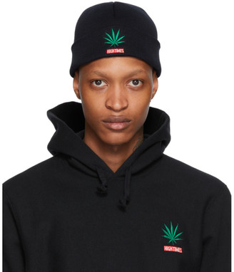 Wacko Maria Black High Times Edition Weed Beanie