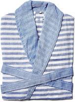 Turkish T Sorbet Short Bathrobe, Royal Blue