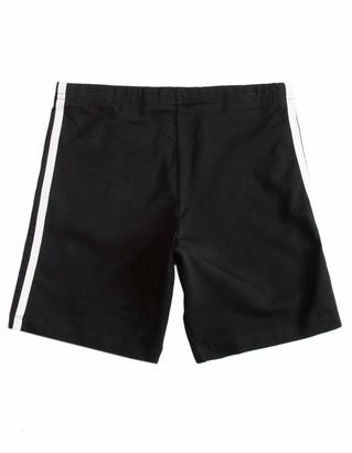 adidas Kids Cycling Shorts Suit Black/White XS
