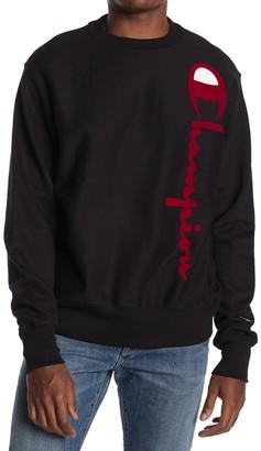Champion Reverse Weave Oversized Crew Neck Sweatshirt