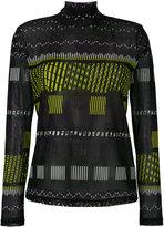 Issey Miyake printed sweatshirt