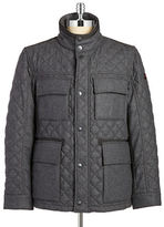 Strellson Quilted Wool Coat