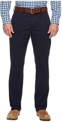 Polo Ralph Lauren Straight Fit Bedford Stretch Chino Pants (Nautical Ink) Men's Clothing