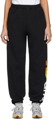 Aries Black New Balance Edition Logo Lounge Pants