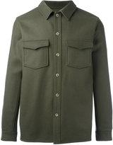 A.P.C. buttoned shirt jacket