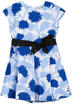 Jean Bourget Blue Floral Dress