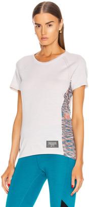 Missoni Adidas By adidas by C.R.U. Tee in White & Orange & Active Teal | FWRD