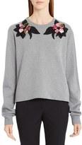 Dolce & Gabbana Women's Rose Embellished Sweatshirt