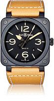 Bell & Ross Men's BR 03-92 Heritage Watch-BROWN