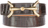Hermes Reversible Alligator Belt Kit