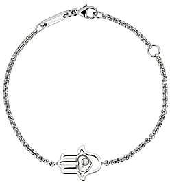 Chopard Women's Happy Diamonds Hamsa Hand Diamond & 18K White Gold Bracelet