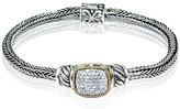 Effy Jewelry Effy 925 Sterling Silver & 18K Yellow Gold Diamond Bracelet, 0.35 TCW