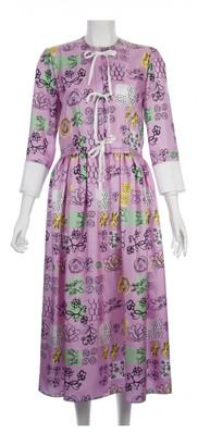 Marni Pink Silk Dresses