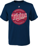 Majestic Boys' Minnesota Twins Electric Ball T-Shirt