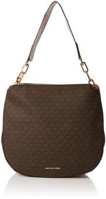 Michael Kors Womens Fulton Shoulder Bag Brown (Brown)