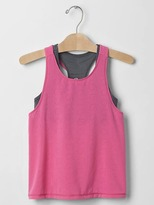 Gap GapFit kids double-layer racerback tank