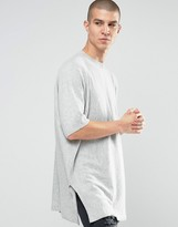 Asos Extreme Longline Sweater with Cashmere