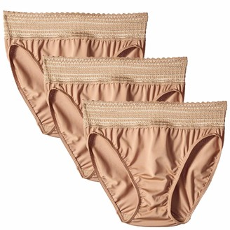 Warner's Warners Women's No Pinching No Problems Tailored Brief 3 Pack Panties