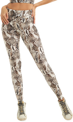 Koral Lustrous High-Rise Camo-Print Leggings