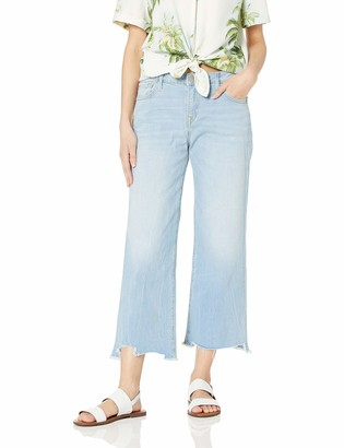 True Religion Women's Brooklyn Wide Leg Jean