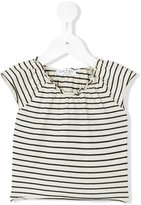 Babe And Tess - striped T-shirt - kids - Cotton - 9 mth