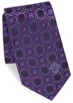 Versace Embroidered Silk Boxed Tie