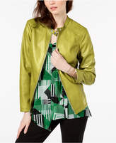 Alfani Stitch Detail Stand Collar Jacket, Created For Macy's