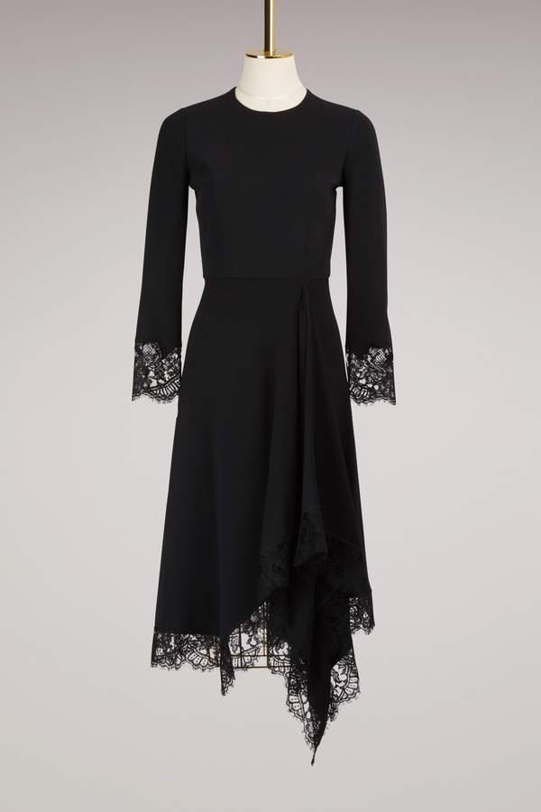 Givenchy Cady Lace Dress