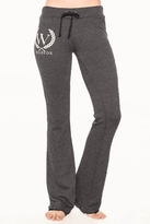 Wildfox Couture Yacht Club Shopping Sweatpants in Clean Black