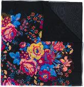 Diane von Furstenberg floral print semi-sheer scarf