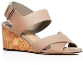 Vince Gwyn Mid Heel Wedge Sandals