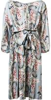 Zimmermann floral print flared dress
