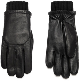 Canada Goose Workman Leather Tech Gloves