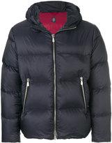Eleventy hooded puffer jacket