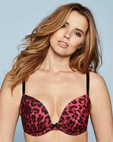 Simply Yours Super Plunge Wired Leopard Print Bra