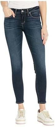 Silver Jeans Co. Avery High-Rise Curvy Fit Skinny Jeans L94116SDG460 (Indigo) Women's Jeans