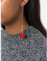 Stella McCartney long ball detail earring