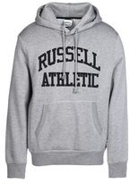 Russell Athletic PULL OVER HOODY WITH TACKLE TWILL ARCH LOGO Sweatshirt